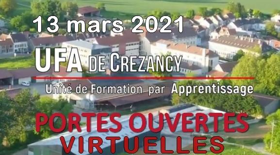 Portes ouvertes UFA du sud de l'Aisne - 13/03/2021